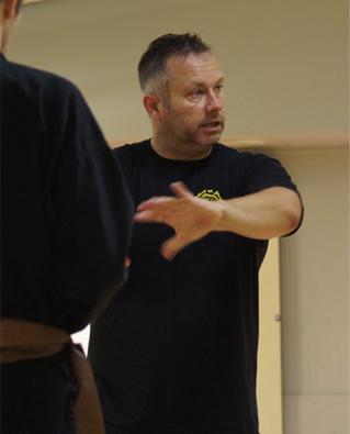 Shaolin Kung Fu Instructor Steve Beynon